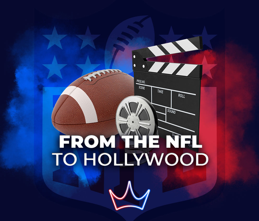 Famous actors who played in the NFL - London Betting Shop lbsbet.com
