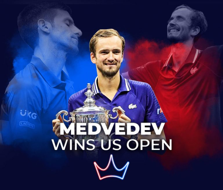 US Open Final surprises with Medvedev victory over Djokovic - London Betting Shop lbsbet.com